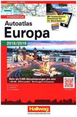 Autoatlas Navigator Europa 2018/2019
