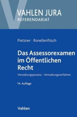 Das Assessorexamen im Öffentlichen Recht