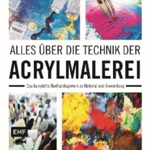 Alles über die Technik der Acrylmalerei