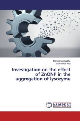 Investigation on the effect of ZnONP in the aggregation of lysozyme