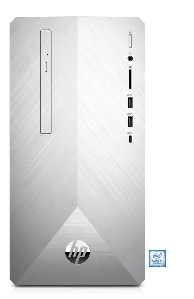 "HP Desktop-PC ""Pavilion 590-p0624ng"" (i7-8700, Radeon™ RX 550, 8 GB RAM, 128 GB SSD)"