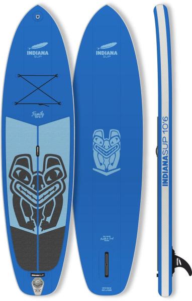 "INDIANA SUP-Board ""Family 10""6"" (Aufblasbar, blau)"