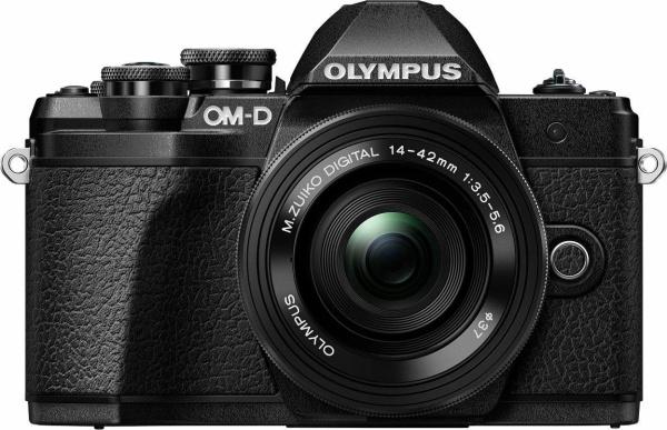 """OLYMPUS Kamera """"E-M10 Mark III"""" (16,1 Megapixel, 14-42 Pancake Zoom Kit EZ)"""