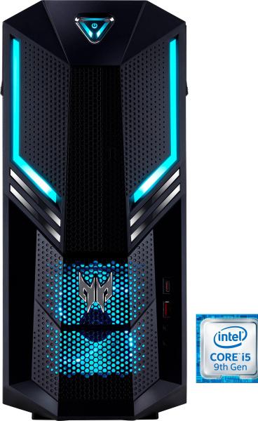 "ACER Gaming-PC ""Predator Orion 3000 PO3-600"" (i5-9400, GTX 1050 Ti, 8 GB RAM, 1 TB HDD, 128 GB SSD)"