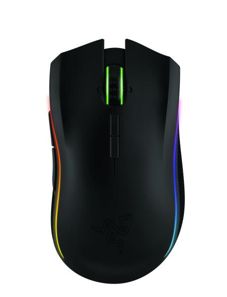 "RAZER Gaming-Maus ""Mamba"" (16.000 DPI, Adjustable Click Force Technologie, kabellos\/-gebunden)"