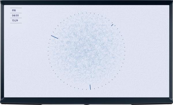"""SAMSUNG Fernseher """"Serif QE43LS01RB"""" (43 Zoll, QLED, 4K Ultra HD, Smart-TV, blau)"""