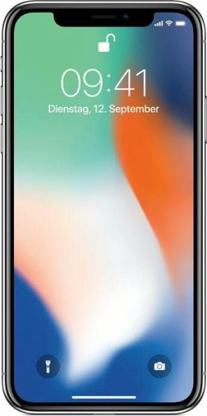 "APPLE Smartphone ""iPhone X"" (256 GB, silberfarben)"