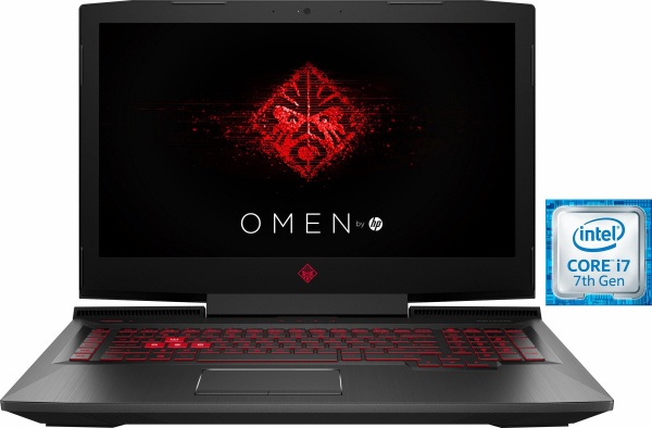 """OMEN by HP Gaming-Notebook """"17-an052ng"""" (17,3 Zoll, i7-7700 HQ, GTX 1070, 16 GB RAM, 256 GB SSD)"""