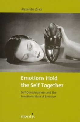 Emotions Hold the Self Together