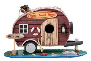 Dekoratives Deko-Vogelhäuschen Motiv: Sweet Home