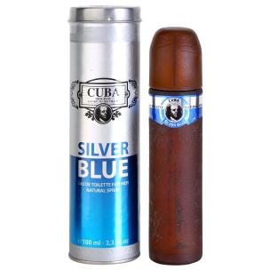 Parfüm Cuba Silver Blue - Eau de Toilette für Ihn (EdT)