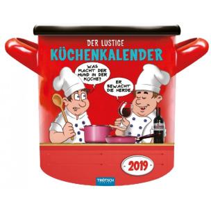 Der lustige Küchenkalender 2019