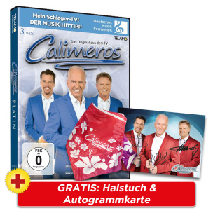Platin + GRATIS Halstuch & Autogrammkarte