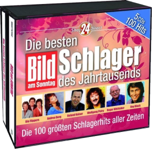 BILD am SONNTAG präsentiert: Die besten 100 Schlager des Jahrtausends