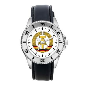 DDR Armbanduhr mit Kunstlederband (OB)