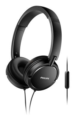 Philips Kopfhörer mit Kabel blau