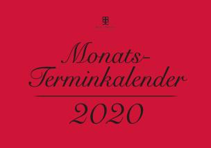 Monatsterminkalender 2020