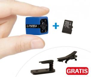 Mini-Kamera Panta Pocket Cam + GRATIS 8GB Speicherkarte