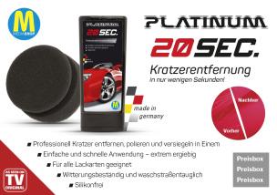 Professionelle Kratzerentfernung Platinum 20sec.