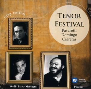 Tenor Festival: Pavarotti/Domingo/Carreras