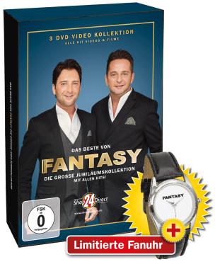 Das Beste von Fantasy - Die DVD zu Das große Jubiläumsalbum + LIMITIERTE Fanuhr