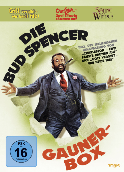 Die Bud Spencer Gauner Box
