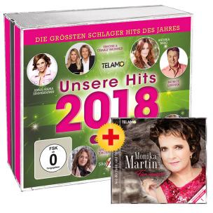 Unsere Hits 2018 + Monika Martin-Für immer