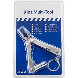 9 in 1 Multitool Edelstahl (Werkzeugset)