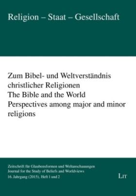 Zum Bibel- und Weltverständnis christlicher Religionen, 2 Hefte