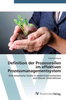 Definition der Prozessrollen im effektiven Prozessmanagementsystem