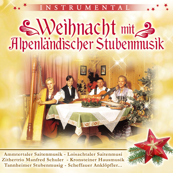 weihnachten mit alpenl ndischer stubenmusik cd. Black Bedroom Furniture Sets. Home Design Ideas