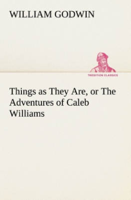 Things as They Are, or The Adventures of Caleb Williams