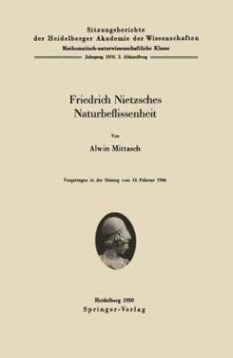 Friedrich Nietzsches Naturbeflissenheit