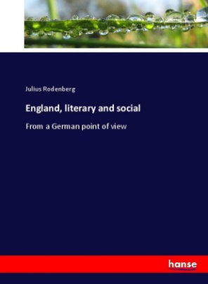 England, literary and social