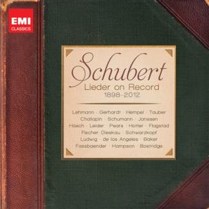 Schubert Lieder On Record
