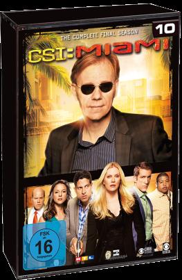CSI: Miami - Kompette Staffel 10