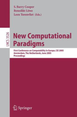 New Computational Paradigms