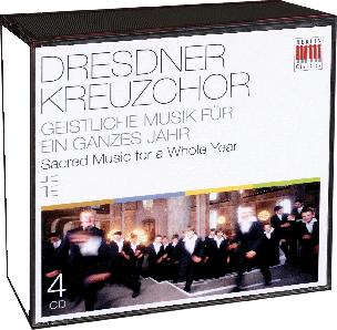 Dresdner Kreuzchor - Geistliche Musik für ein ganzes Jahr (4 CDs)
