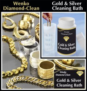 Diamond Clean Gold- & Silber Reinigungsbad, 2er Set