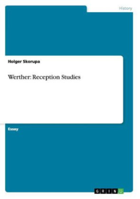 Werther: Reception Studies