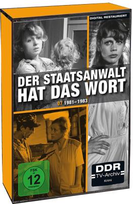 Der Staatsanwalt hat das Wort - Staffel 7 (DDR-TV-Archiv)