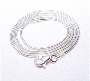 Schlangenkette Silber Si925  0,95 mm 45 cm