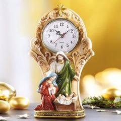 Krippen-Uhr