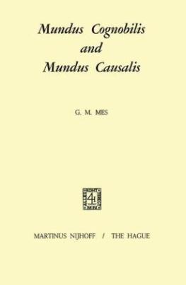Mundus Cognobilis and Mundus Causalis