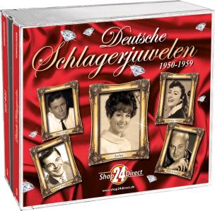 Deutsche Schlagerjuwelen - Die Raritäten 1950-1959