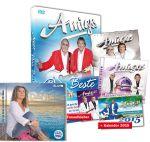 Amigos Geschenk-Paket (mit Kalender 2015 und Amigos-Aufkleber) + Daniela Alfinito - Ein bisschen sterben