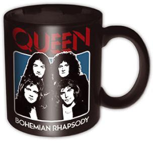 Queen Bo Rhap Black Tasse