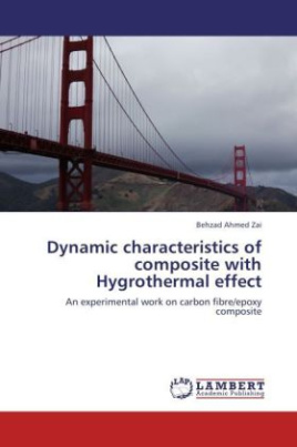 Dynamic characteristics of composite with Hygrothermal effect