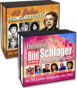 40 Jahre ZDF Hitparade + Die besten Schlager des Jahrtausends