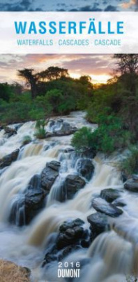Wasserfälle - Long Size Kalender 2016